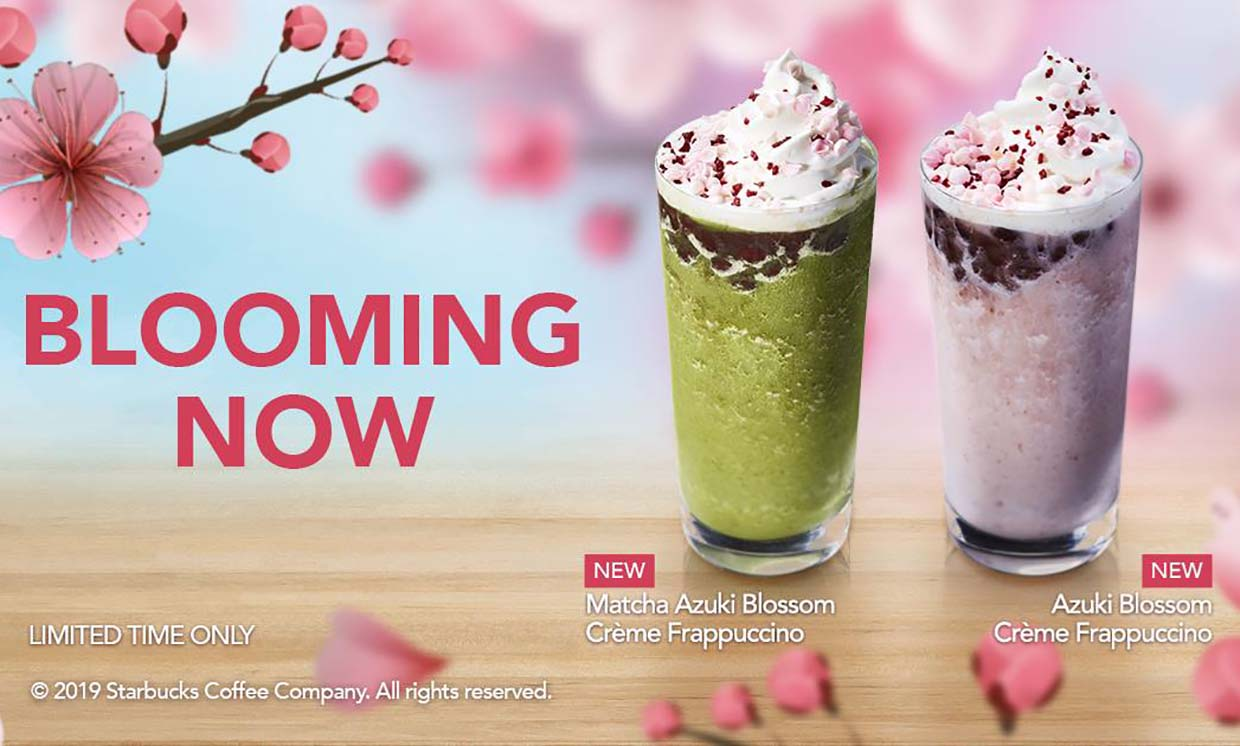 New Cherry Blossom Inspired Beverages @ Starbucks Malaysia
