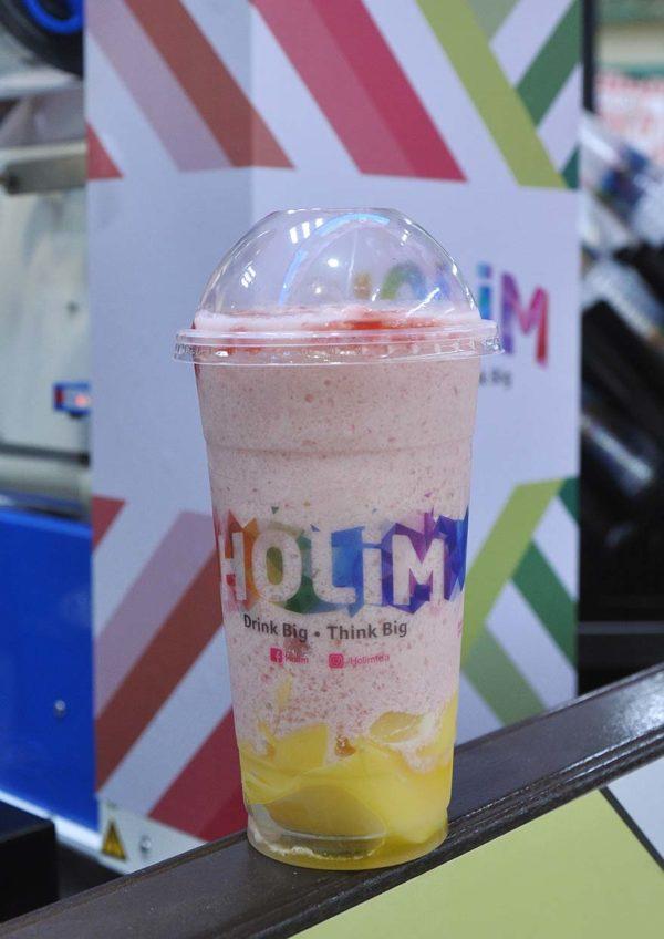 tesco mutiara damansara holim bubble tea strawberry smoothies