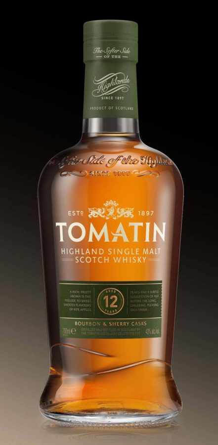 tomatin scottish highlands whisky 61 monarchy 12 year old