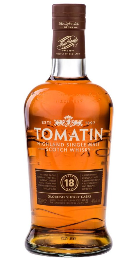 tomatin scottish highlands whisky 61 monarchy 18 year old