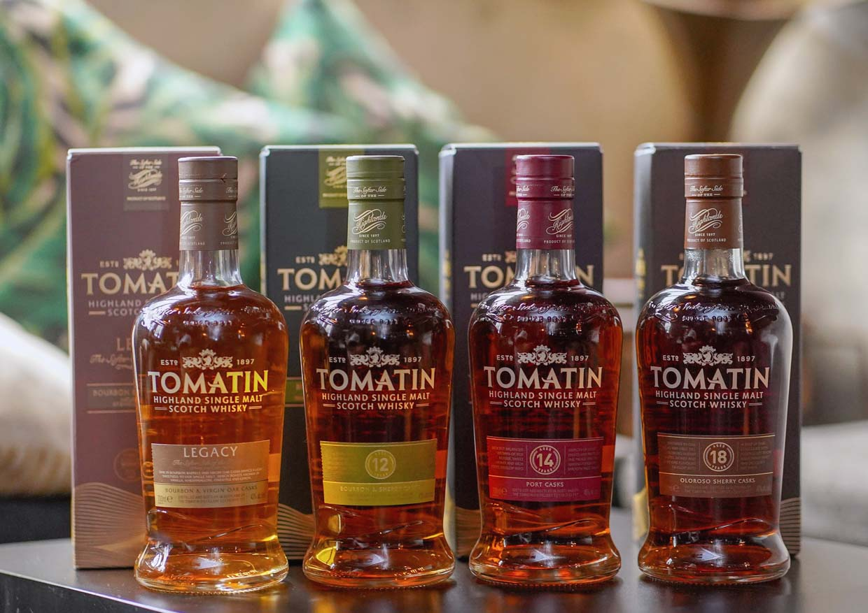 Taste of the Scottish Highlands @ Tomatin Single Malt Whisky