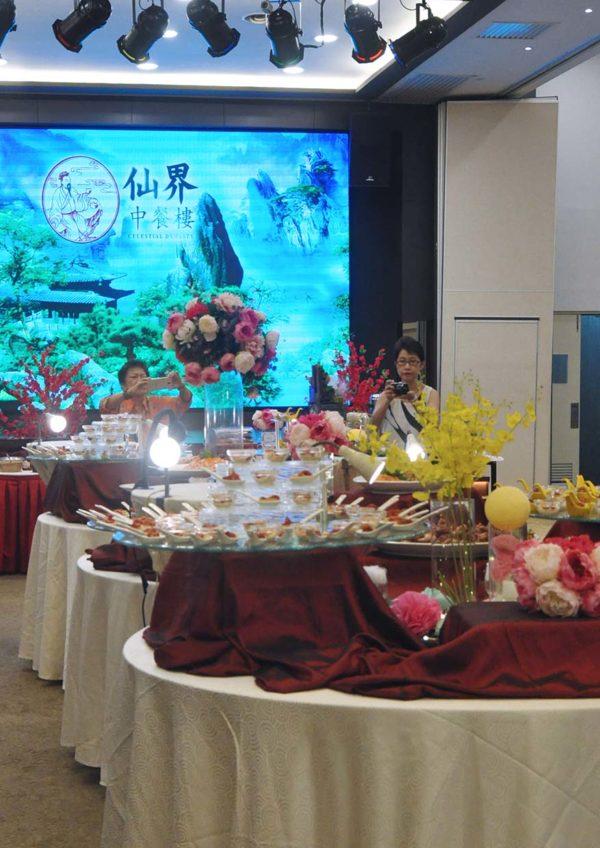 celestial dynasty petaling jaya sunday dim sum buffet lunch hall