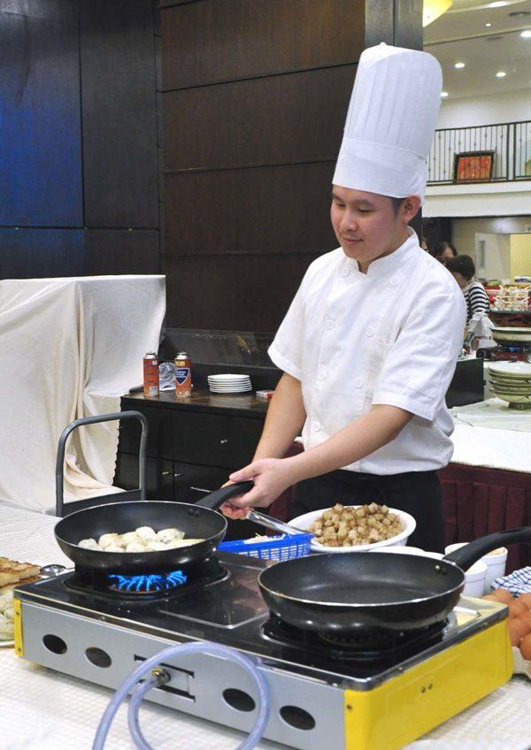 celestial dynasty petaling jaya sunday dim sum buffet lunch live station
