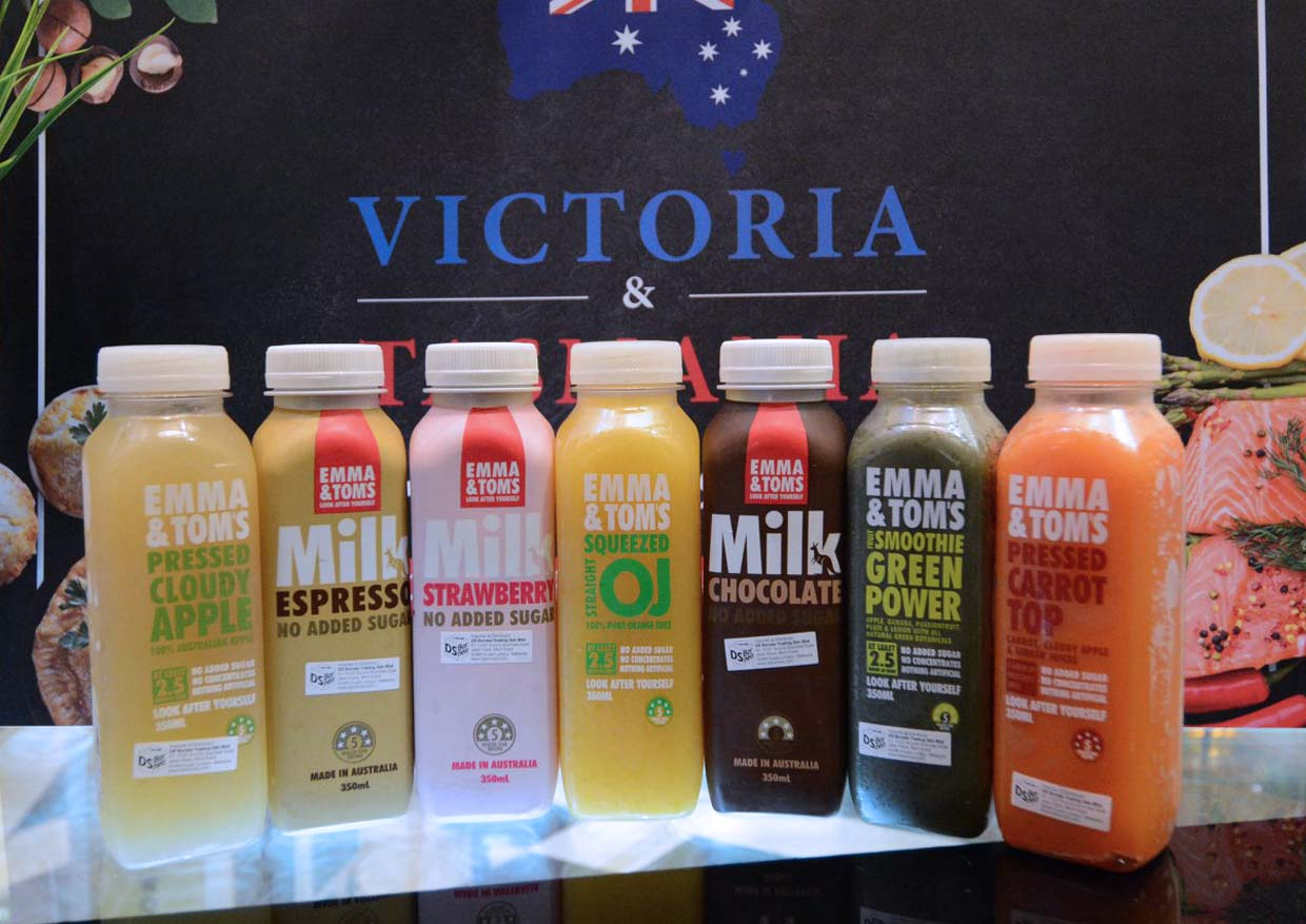 Victoria & Tasmania Products Showcase @ Jasons Food Hall
