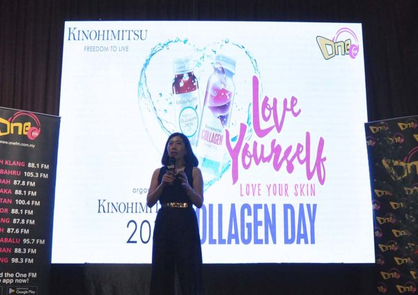 kinohimitsu collagen day love yourself party eight gourmet gala jennifer chin
