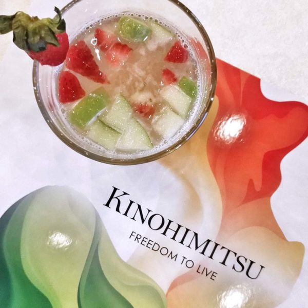 kinohimitsu collagen day love yourself party eight gourmet gala mocktail