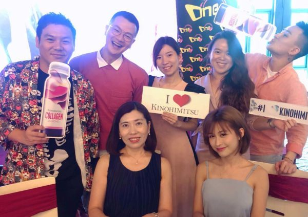 kinohimitsu collagen day love yourself party eight gourmet gala one fm djs