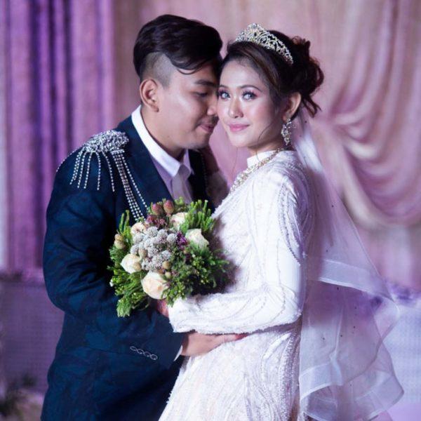 siti suriani jamumall grand wedding couple