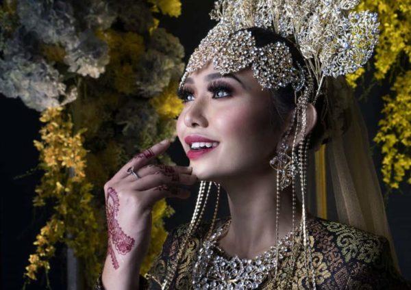 siti suriani jamumall grand wedding make up