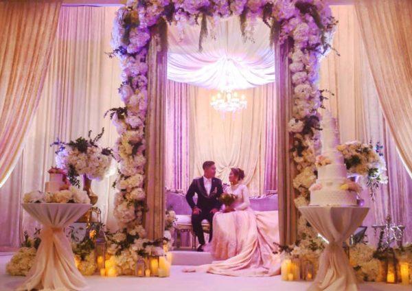 siti suriani jamumall grand wedding setting