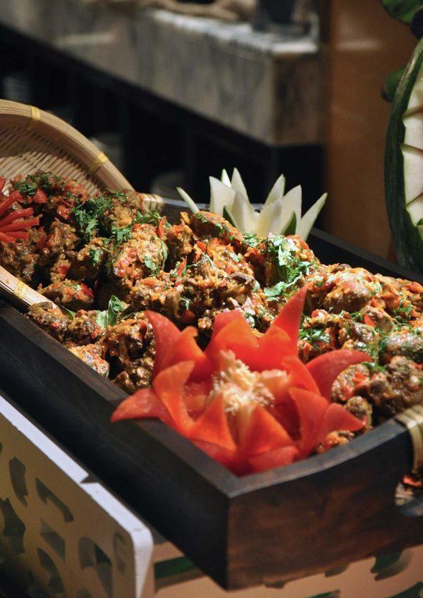 the westin kuala lumpur the living room ramadan buffet kerabu