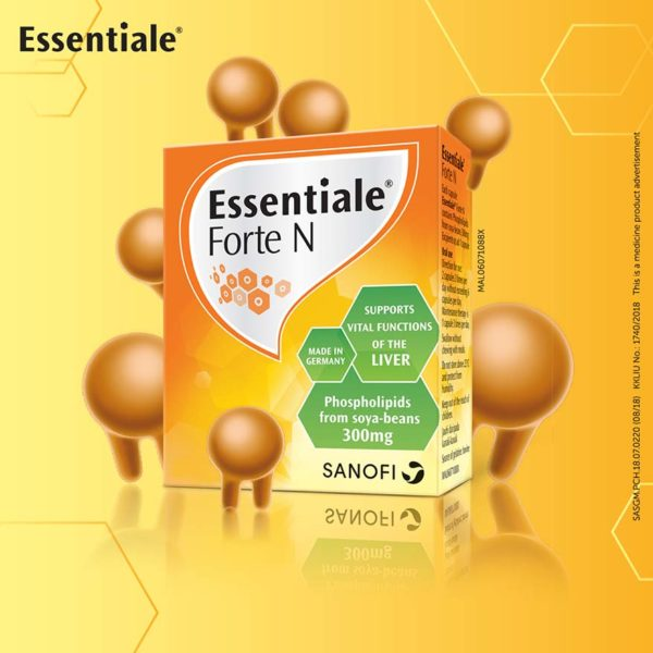 world liver day essentiale box packaging