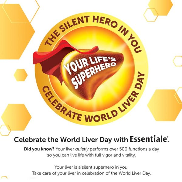 world liver day essentiale healthy awareness