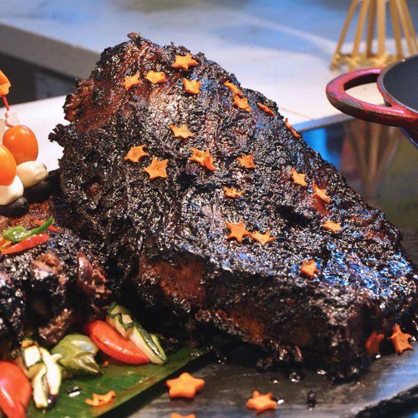 aloft kuala lumpur nook ramadan buffet selera indonesia daging sapi gongso