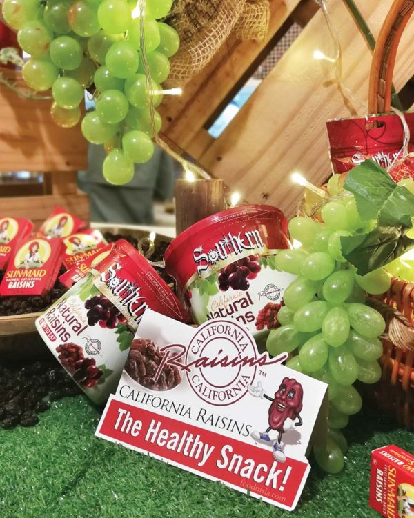 california raisins rasa-rasa sayang cooking contest healthy
