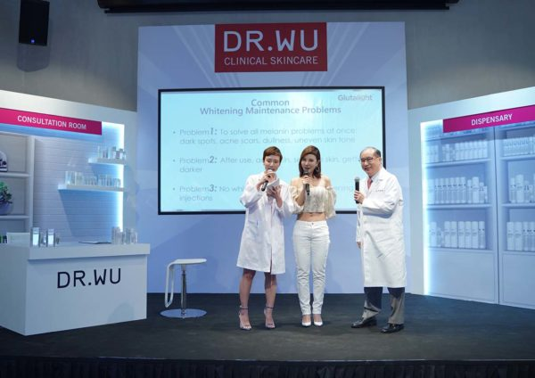 dr wu glutalight whitening system demo