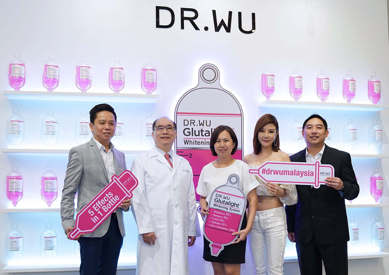 Perfectly White Skin with Dr. Wu Glutalight™ Whitening System