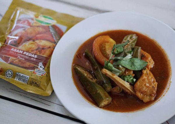 flavorista cooking premix powder malaysian dish asam pedas