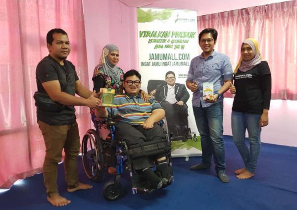 jamumall dot come founder khairul nizam product