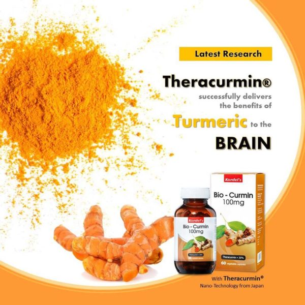 kordels bio-curmin theracurmin turmeric improve brain function