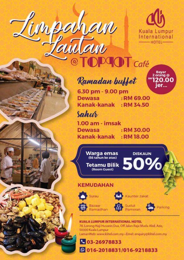 kuala lumpur international hotel toppot cafe limpahan lautan ramadan buffet