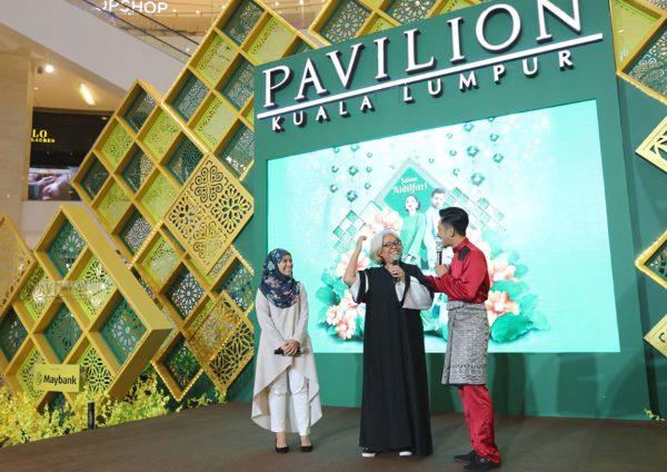 pavilion kuala lumpur festive mall decoration the beauty of raya guests