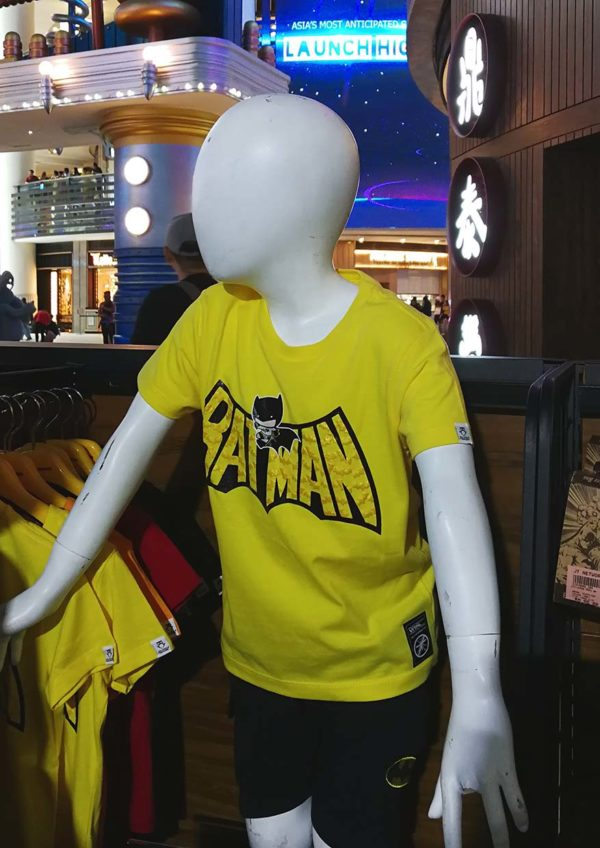 resorts world genting skyavenue batman 80th anniversary merchandise