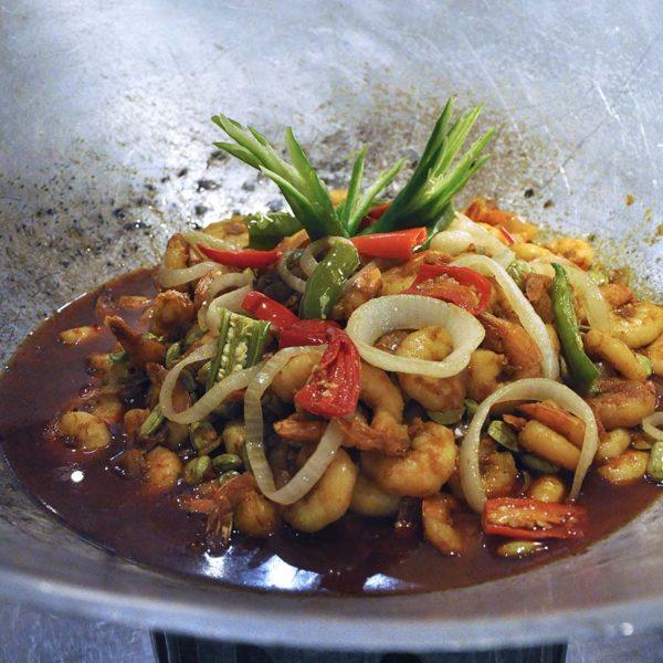 the westin kuala lumpur the living room ramadan buffet udang sambal petai