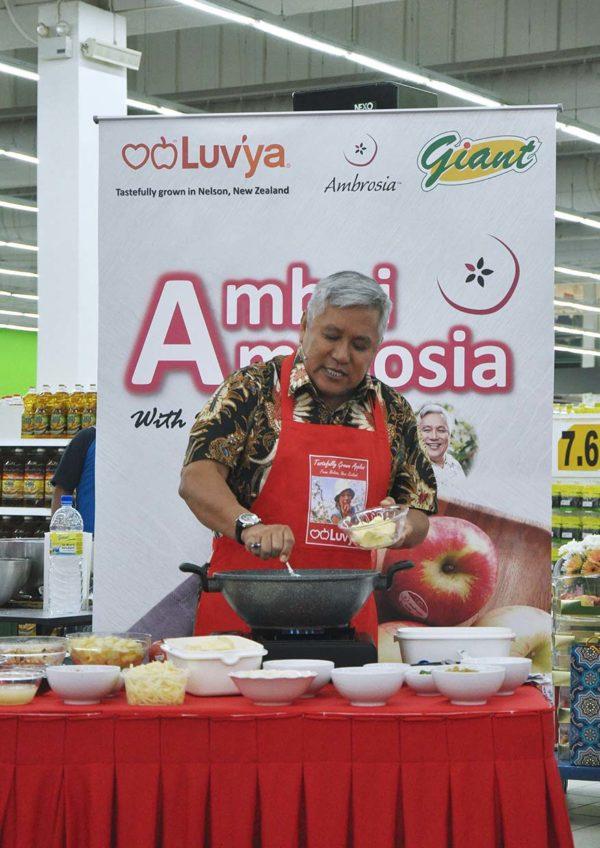 ambrosia apples new zealand heartland group chef wan