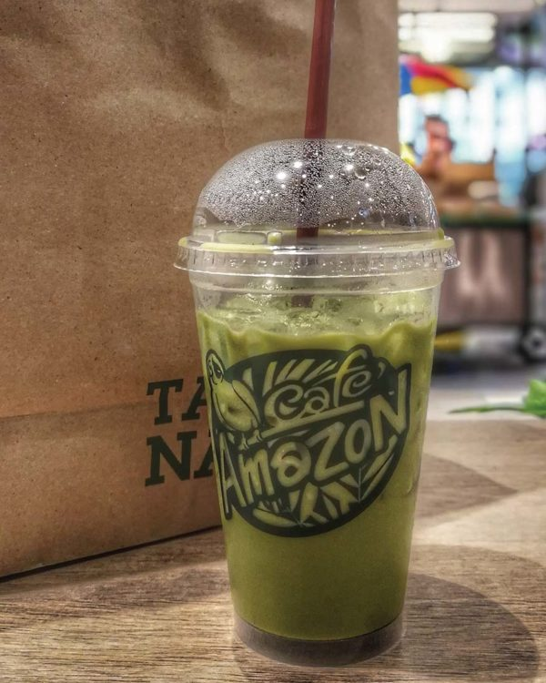 cafe amazon central i-city shah alam beverage