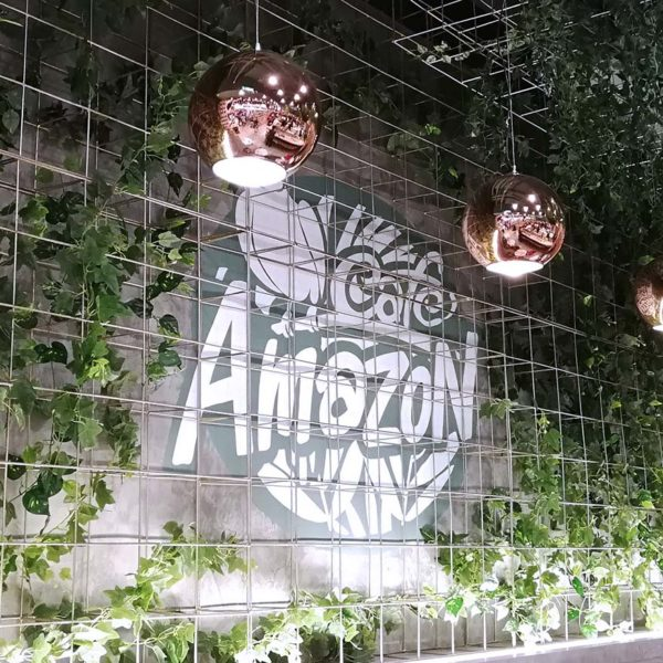 cafe amazon central i-city shah alam interior