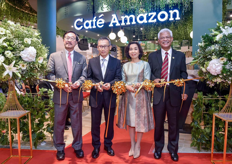 1st Café Amazon Malaysia @ Central i-City, Shah Alam