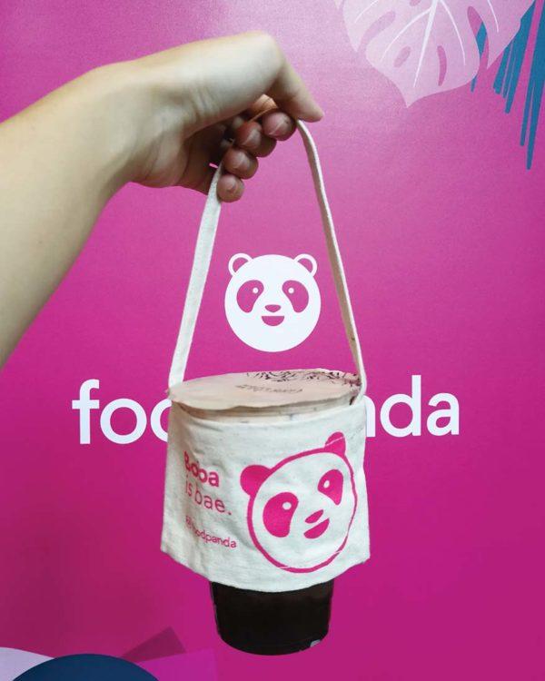 foodpanda online food delivery service drink holder