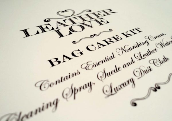 leather love bag spa publika kl service