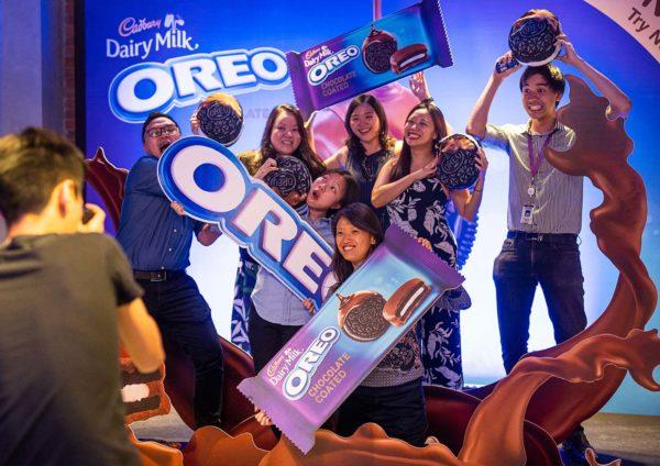 oreo chocolate coated cadbury dairy milk