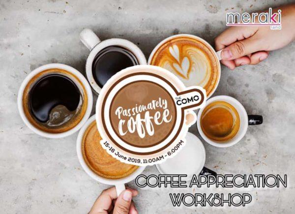 the como bukit jalil kuala lumpur passionately coffee appreciation workshop