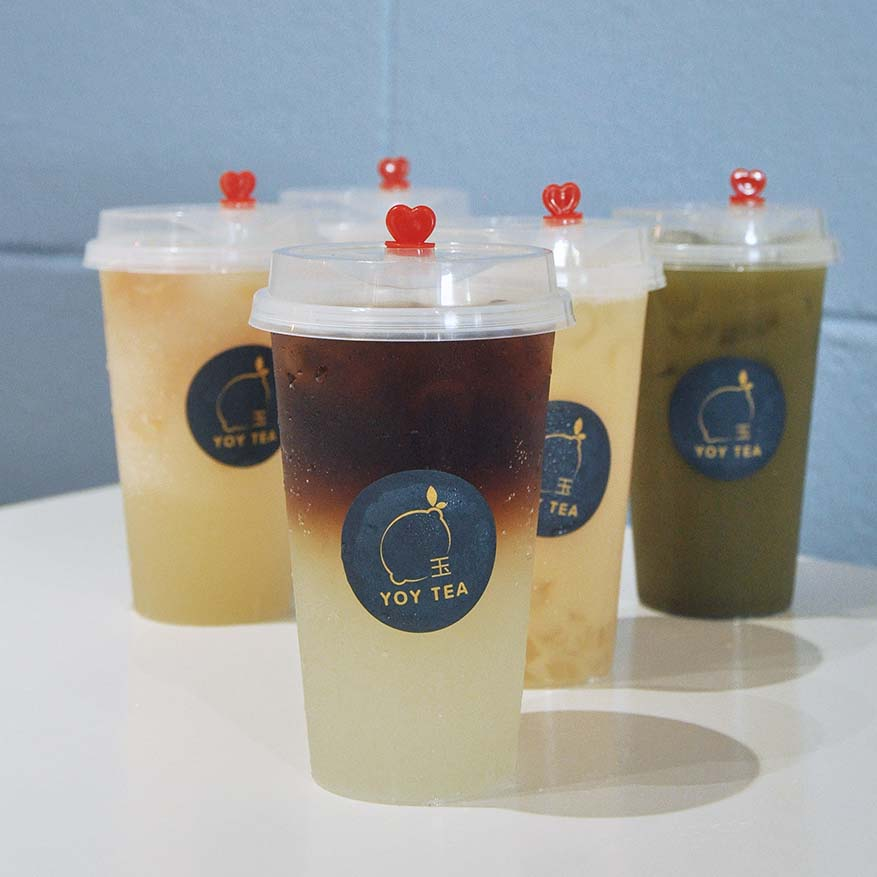 Signature Taiwan Styled Beverages @ YOY Tea, Bandar Sunway