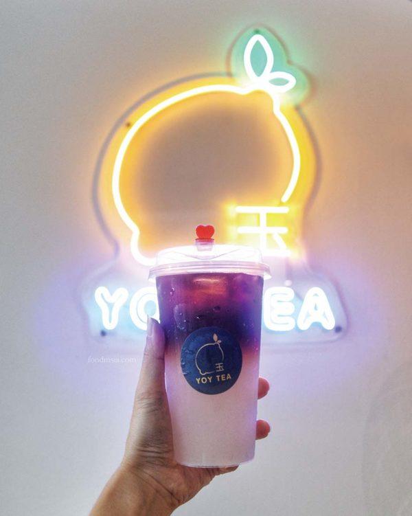 yoy tea bandar sunway perfume lemon espresso logo