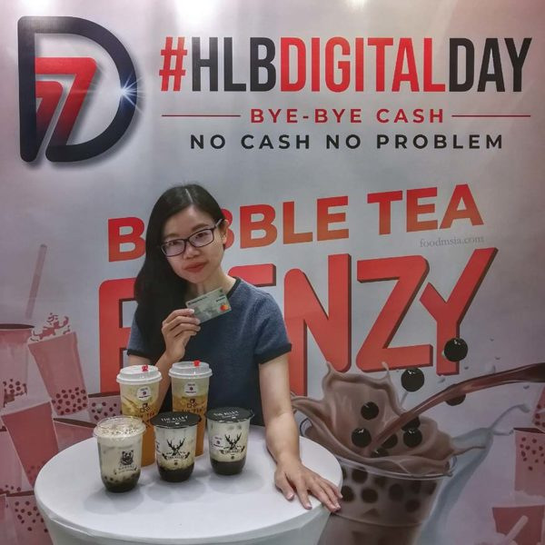 hong leong bank bubble tea frenzy digital day ss15 subang jaya ivy kam