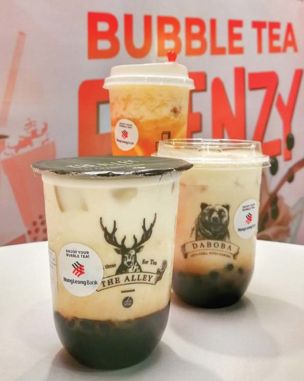 hong leong bank bubble tea frenzy digital day ss15 subang jaya varieties