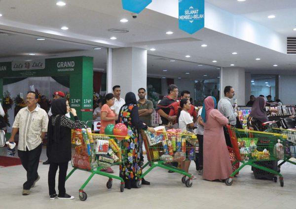 lulu hypermarket 1 shamelin mall cheras kuala lumpur shoppers