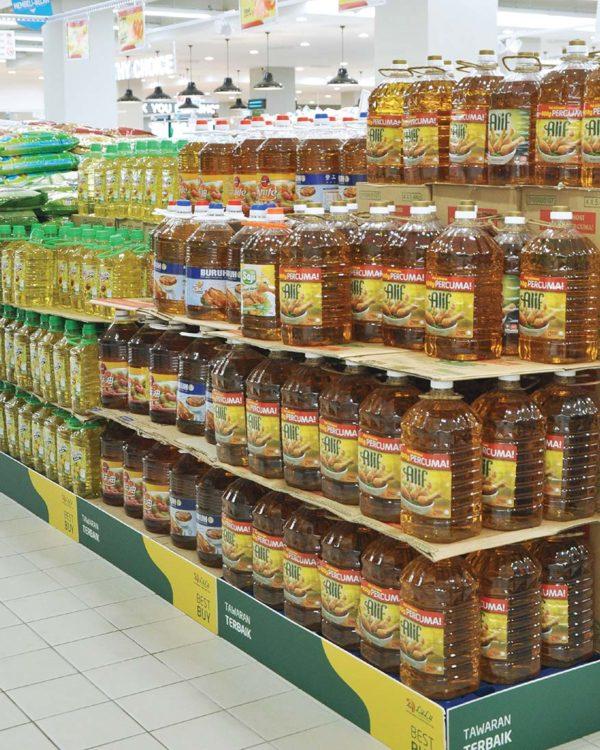 lulu hypermarket kuala lumpur food carnival promotion cooking oil