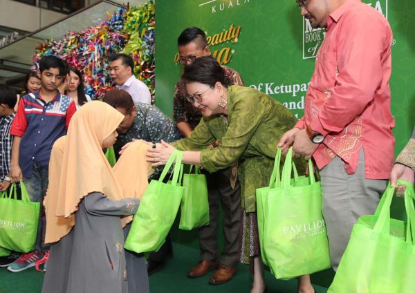 pavilion kl the beauty of raya ketupat woven charity dato joyce yap