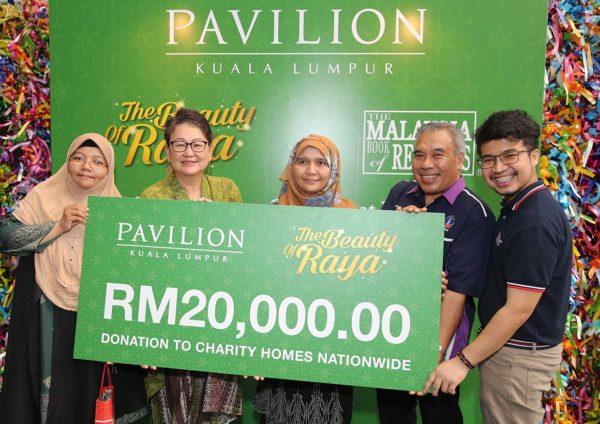 pavilion kl the beauty of raya ketupat woven charity rumah kebajikan