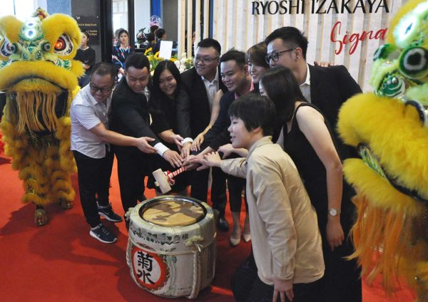 ryoshi izakaya signature atria shopping gallery pj launching