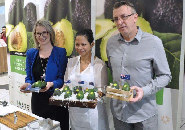 taste australia avocado launching event jaya grocer