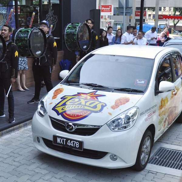 texas chicken malaysia drive thru sunway mentari launching event