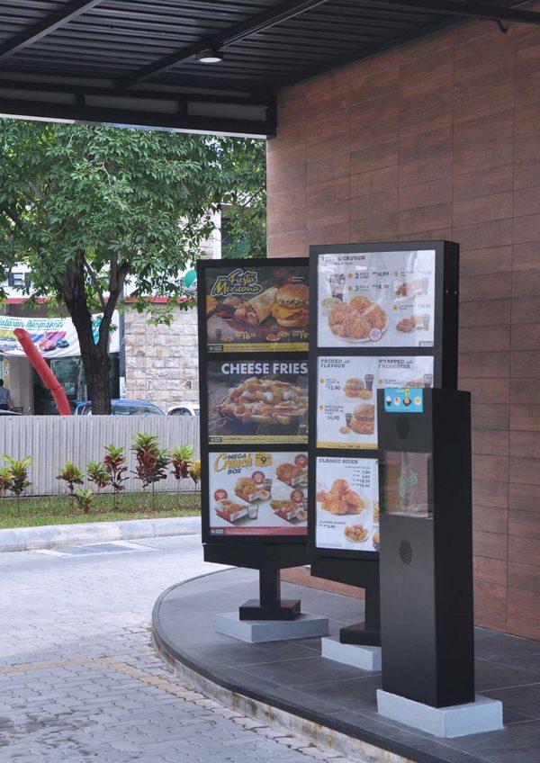 texas chicken malaysia drive thru sunway mentari menu