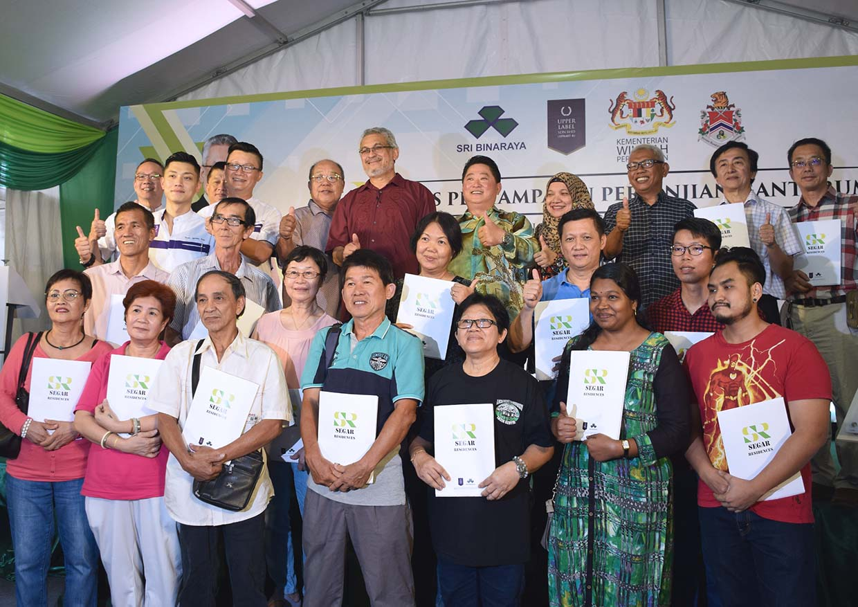Upper Label's CSR Improves Lives of 1,200 Low-Cost Flats Residents @ Taman Segar, Cheras