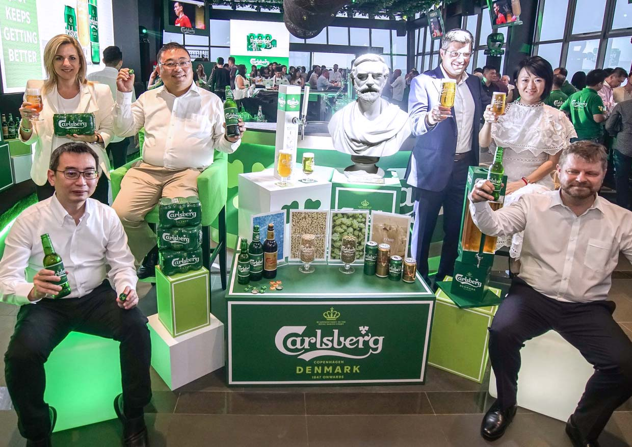 Carlsberg Just Keeps Getting Better with Refreshed Identity & Practical Betterments